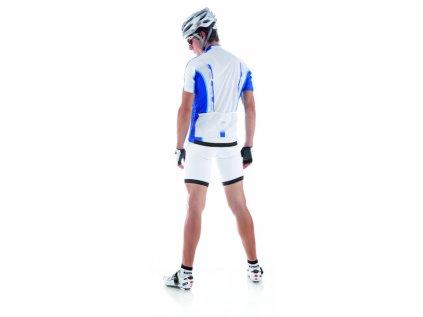Cyklistický dres pánsky GIESSEGI Shade bielo/modrý