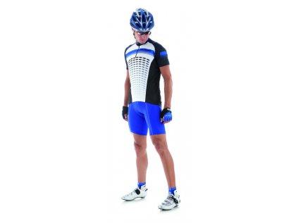 Cyklistický dres pánsky GIESSEGI Air modrý