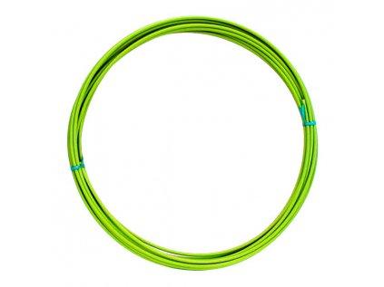Bowden brzdový průměr 5 mm - neónovo zelený