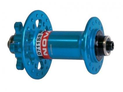 Náboj Novatec D711SB, přední, 32-děrový, modrý