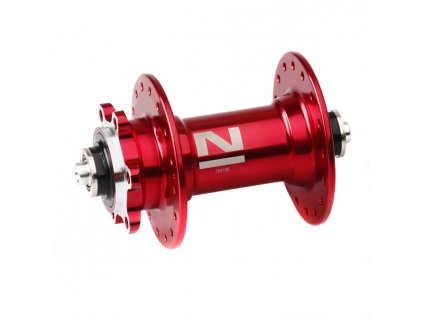 Náboj Novatec D041SB, přední, 32-děrový, červený (N-logo)