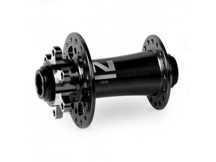 Náboj Novatec D791SB-15, přední, 28-děrový, černý (N-logo)