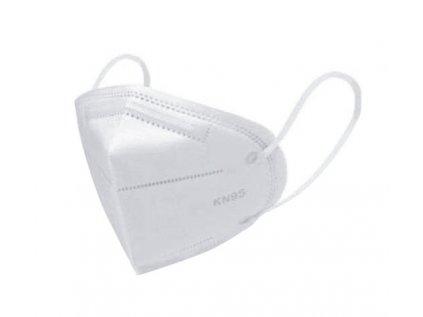 respirátory KN95(FFP2) ochranné Ever Smart, prodej po 1 balení (5ks) v PE,