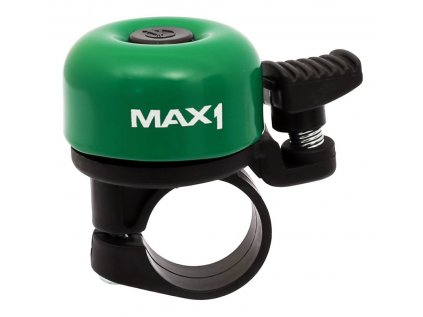 zvonek VELOBEL mini tmavě zelený