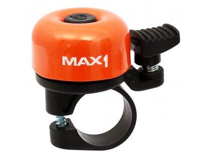 zvonek VELOBEL mini oranžový