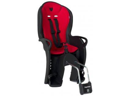 sedačka zadní HAMAX Kiss černo/červená
