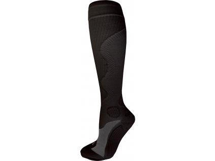 Kompresní sportovní ponožky WAVE, černé