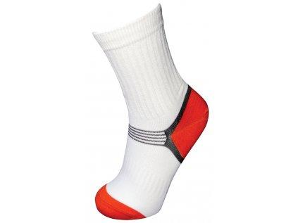 Sportovní ponožky, bílé