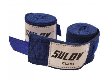 Box bandáž SULOV nylon 4m, 2ks, modrá