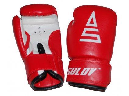 Box rukavice SULOV PVC, červené
