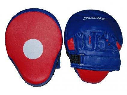 Box lapa prohnutá SULOV PVC, pár, modro-červená