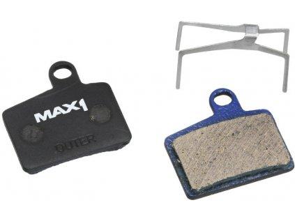 brzdové destičky MAX1 Hayes Stroker Ryde