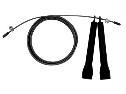 Švihadlo LIFEFIT SPEED ROPE 300cm, černé