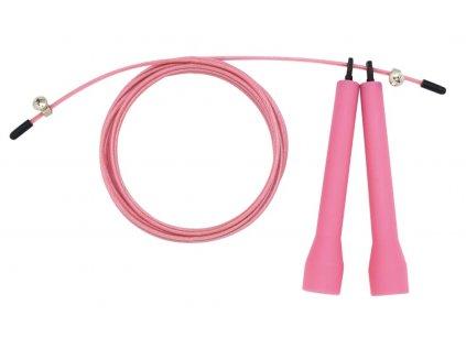 Švihadlo LIFEFIT SPEED ROPE 300cm, růžové