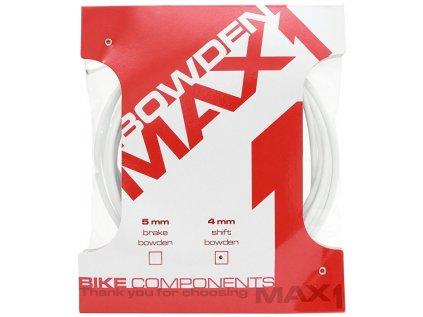 bowden MAX1 4 mm bílý balení 3 m