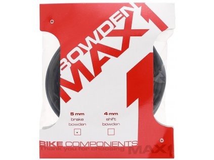 bowden MAX1 5mm černý balení 3m