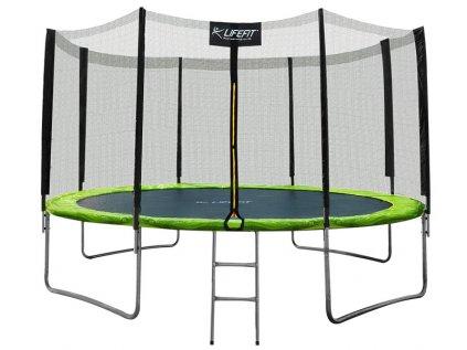 Trampolína LIFEFIT 12' / 366cm vč.sítě a schůdků