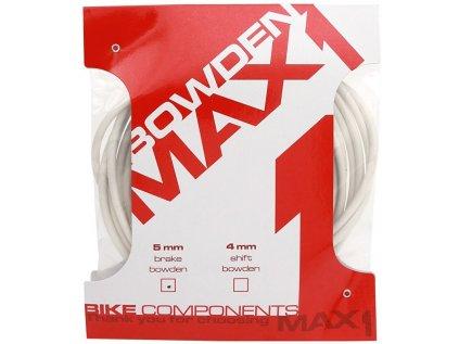 bowden MAX1 5 mm bílý balení 3 m