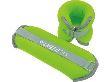 Neoprenová zátěž LIFEFIT kotník/zápěstí S2 2x0,5kg