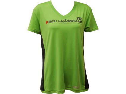Dámské běžecké triko SULOV RUNFIT, zelené