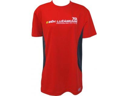 Pánské běžecké triko SULOV RUNFIT, červené