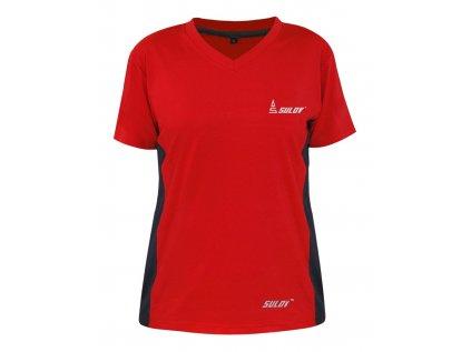 Dámské běžecké triko SULOV RUNFIT, červené