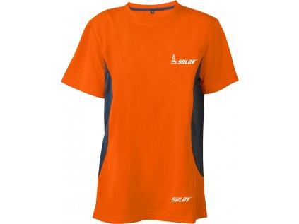 Pánské běžecké triko SULOV RUNFIT, oranžové