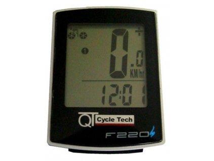 Cyklopočítač QT Cycle Tech F-220