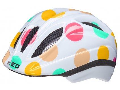 přilba KED Meggy Trend M dots colorful 52-58 cm