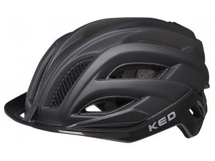 přilba KED Champion Visor M process black matt 52-57 cm