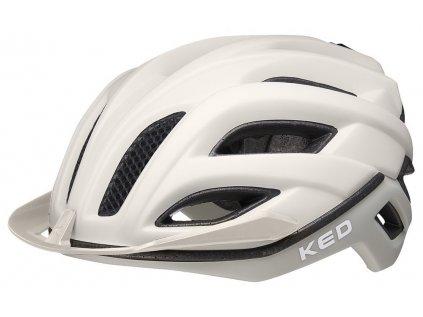 přilba KED Champion Visor M ash light matt 52-57 cm