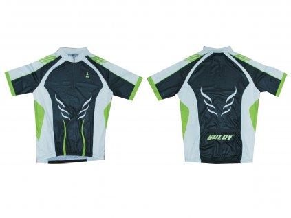 Cyklistický dres SULOV, zelený