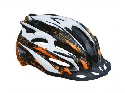 Cyklo helma SULOV QUATRO, černo-oranžová