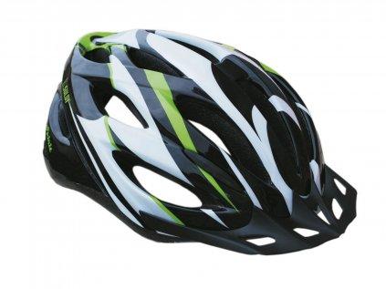 Cyklo helma SULOV SPIRIT, černo-zelená