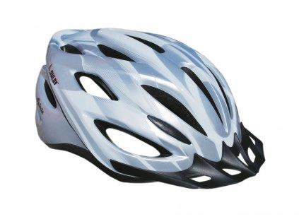 Cyklo helma SULOV SPIRIT, stříbrná