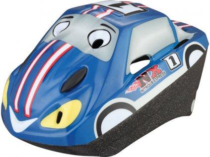 Dětská cyklo helma SULOV CAR, modrá