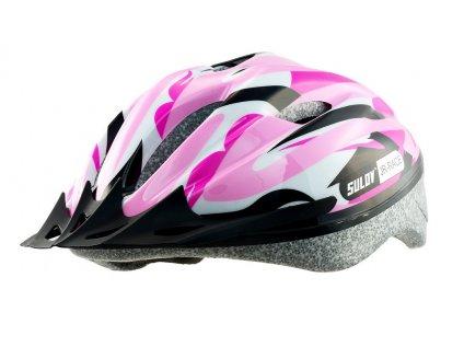 Dětská cyklo helma SULOV JR-RACE-G, růžová