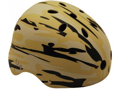 Helma na skate SULOV U4, hnědá