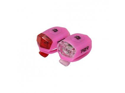 Sada bezpečnostního osvětlení P2R FREYO pink