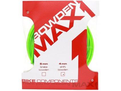 bowden MAX1 4 mm fluo zelená balení 3 m