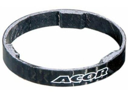 """spacer A-H 1 1/8"""" ACOR 3mm carbon"""
