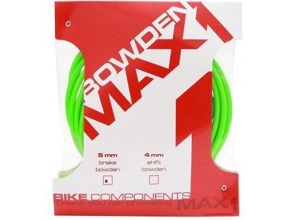 bowden MAX1 5 mm fluo zelená balení 3 m