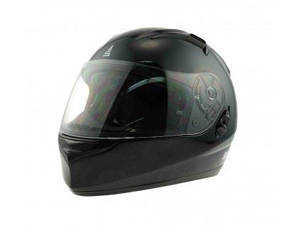 Motocyklová přilba SULOV SABOTAGE, černá