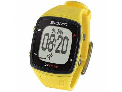 Běžecké hodinky Sigma iD.RUN yellow