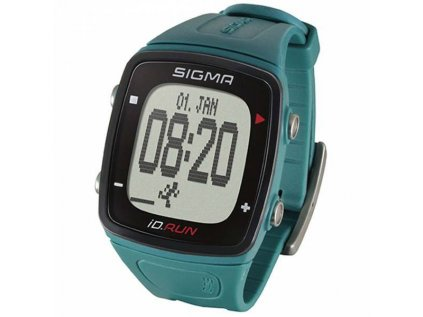 Běžecké hodinky Sigma iD.RUN pine green