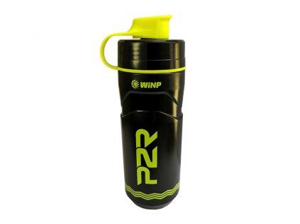 Termo láhev P2R TERMICA 600 ml, black-lime