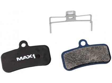 brzdové destičky MAX1 Shimano/Tectro