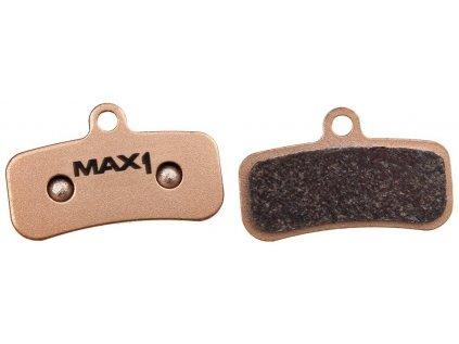 brzdové destičky MAX1 Shimano/Tectro Sintered