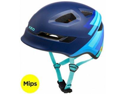 přilba KED Pop Mips M blue 52-56 cm