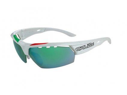 brýle SALICE 005ITA white/RW green/transparent
